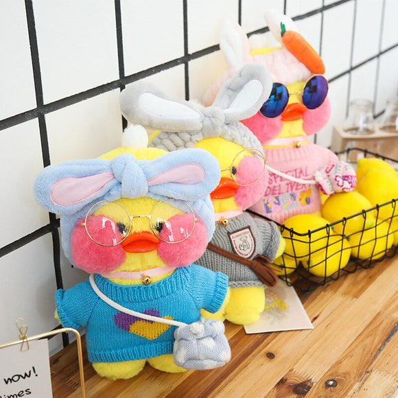 32cm LaLafanfan Cafe Duck Plush Toy