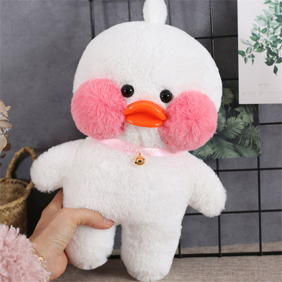 2 Pcs Lalafanfan Duck Plush Toys Kawaii Gift for Girls - HeyHouse