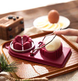 Kitchen Gadgets Multi-function Stainless Steel Egg Cutter 2pcs - HeyHouse