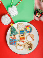 Christmas Cookie Plunger Cutters