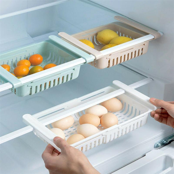 2pcs Retractable Refrigerator Storage Box - HeyHouse