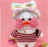 30cm Creative Cafe Mimi duck Plush Toys