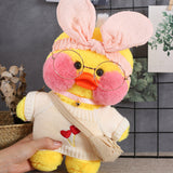30cm Cute LaLafanfan Cafe ins Duck Plush Toy - HeyHouse