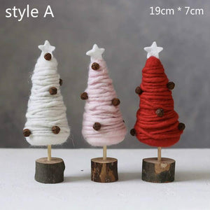 Wool Christmas Tree - HeyHouseCart