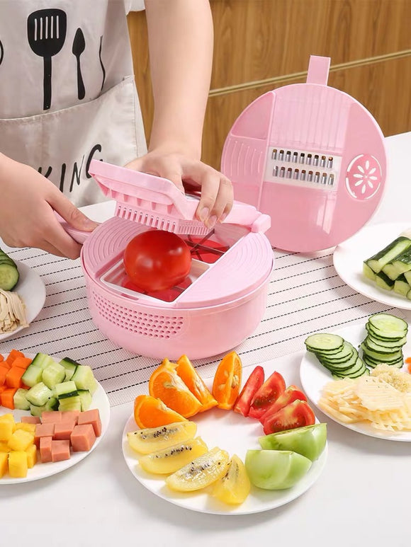 Mandoline Slicer Cutter Chopper and Grater - HeyHouse