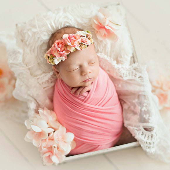 50*150cm Extra Soft Stretch Newborn Photography Wrap For Photo Shooting Baby Photo Props Newborn Swaddle Photography Accessories - HeyHouse