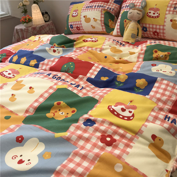 Cartoon Bed Sheet Sets