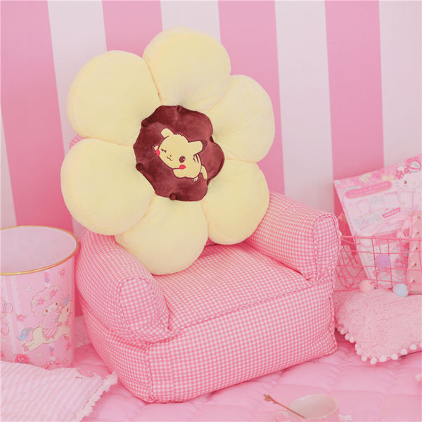 Sanrio Characters Pikachu My Melody Little Twin Stars Cinnamoroll Pompompurin Cushion & Backrest Pillow