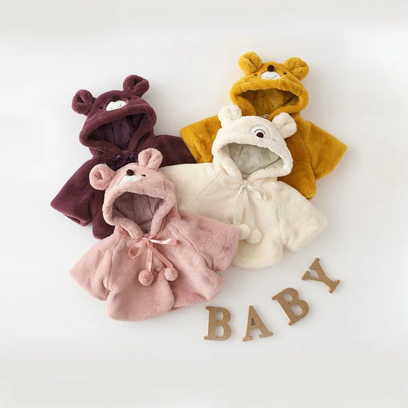 Baby Autumn Winter Warm Hooded Coat