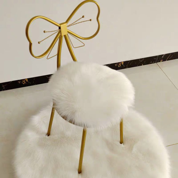 Faux Sheepskin Chair Pad/Foot Floor Mat - HeyHouse