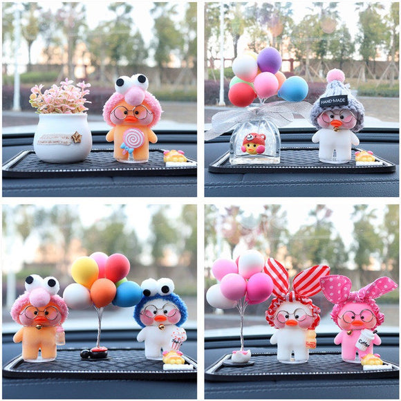 Car Decoration Ornaments Lalafanfan Cafe Mimi Duck Car Sit Doll