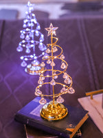 Led Christmas Lights Crystal Christmas Tree