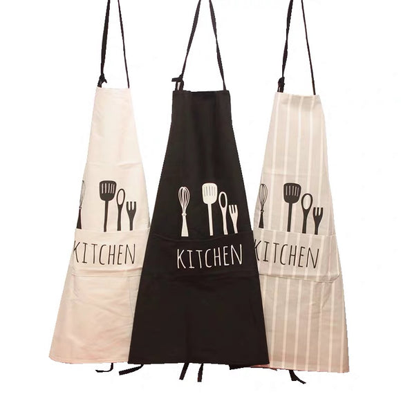 Waterproof Polyester Kitchen Apron for Woman and Men - HeyHouse