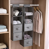 Wardrobe Hanging Closet Organizer - HeyHouse