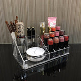 Acrylic Makeup Organizer Storage Boxes Make Up Organizer For Cosmetics Brush holder Organizer home Storage Drawers Lipstick rack - HeyHouse