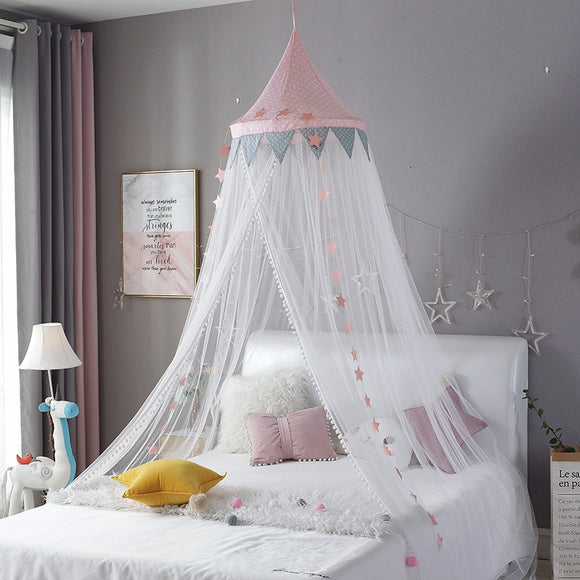 Baby Room Mosquito Net Kid Bed Curtain Canopy