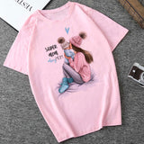 Summer 2019 Mother's Day T Shirt Women Harajuku Kawaii Super Mom T shirt Leisure Comfortable Vogue Aesthetic Lovely T shirt - HeyHouseCart