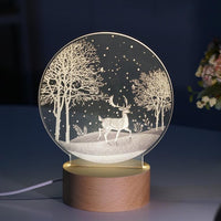 Carving 3D LED Night Lights - HeyHouse