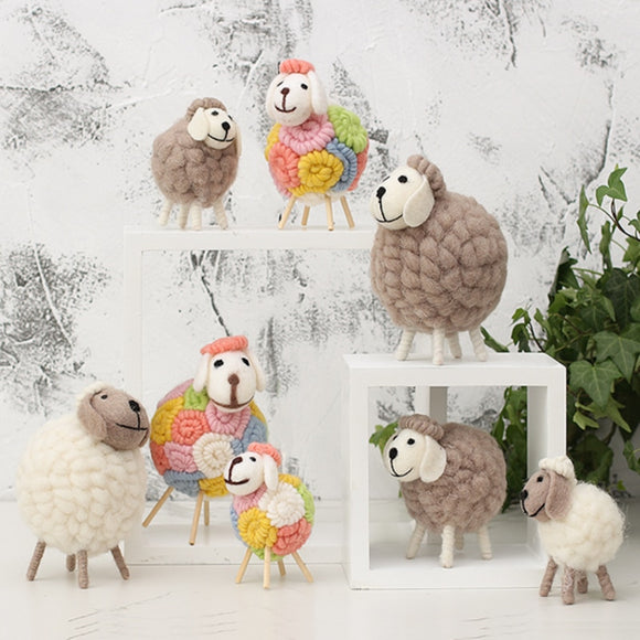 Creative Home Alpaca Ornament Decoration Birthday Gift - HeyHouseCart