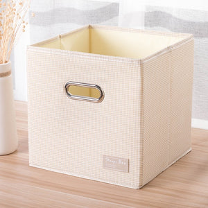 Cube Portable folding Home supplies clothing Underwear socks organizer and kids toys storage basket Cosmetics storage box bins - HeyHouse
