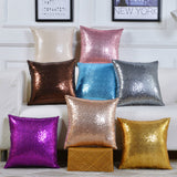 Cushion Cover/Throw Pillow 40*40 Mermaid Glitter Pillow with Sequin Pillowcase Decorative Pillows Cover/ Throw Pillow Cojines Decorativos Para Sofa 40561 - HeyHouse