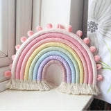 Rope Rainbow Wall Hanging Decoration