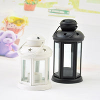 European Wrought Iron Candle Lantern--Decorative Light for Wedding and Birthday - HeyHouseCart