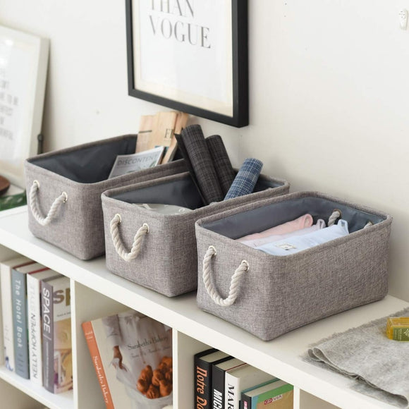 Folding laundry basket toy storage bag Socks Underwear organizer Bra books Toys Storage Box Organizer Cosmetics Nursery Hamper - HeyHouse