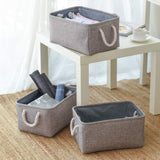 Folding laundry basket toy storage bag Socks Underwear organizer Bra books Toys Storage Box Organizer Cosmetics Nursery Hamper - HeyHouseCart