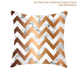 Rose Gold Cushion Cover/Throw Pillow Sofa Nordic Geometric Decorative Pillow Case/ Throw Piloow 45*45 Cushion Home Decor Throw Pillow Cover/ Throw Pillow - HeyHouse