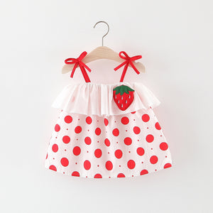 Baby Girls Strawberry Dress - HeyHouse