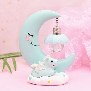 Girl's Moon Dream Unicorn Night Light - HeyHouse