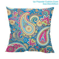 Yellow Flamingo Cushion Cover/ Throw Pillow 45*45 Polyester Nordic Style Decorative Pillow Case/ Throw Pillow Home Decor Sofa Throw Pillow/ Pillow Cover Pillowcase - HeyHouseCart