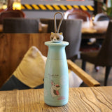 Cartoon Cat Creative Thermos Cup Cute Men and Women Thermal Cup Portable Stainless Steel Sport Bottle - HeyHouse