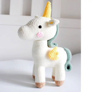 Unique Crochet Unicorn Toy for Baby - HeyHouse