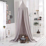 Hanging Kids Bedding Mosquito Net Cotton Baby Bed Canopy