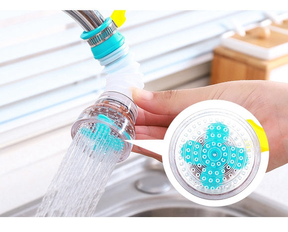 360 Degree Adjustable Water Tap Extension Filter for Kitchen Accessories
