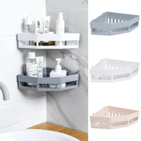 3 Tiers Bathroom Shower Corner Shelf  Shampoo Holder Kitchen Storage Rack - HeyHouse