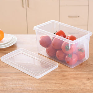 Kitchen Transparent PP Storage Box Grains Beans Storage Contain Sealed Home Organizer Food Container Refrigerator Storage Boxes - HeyHouse