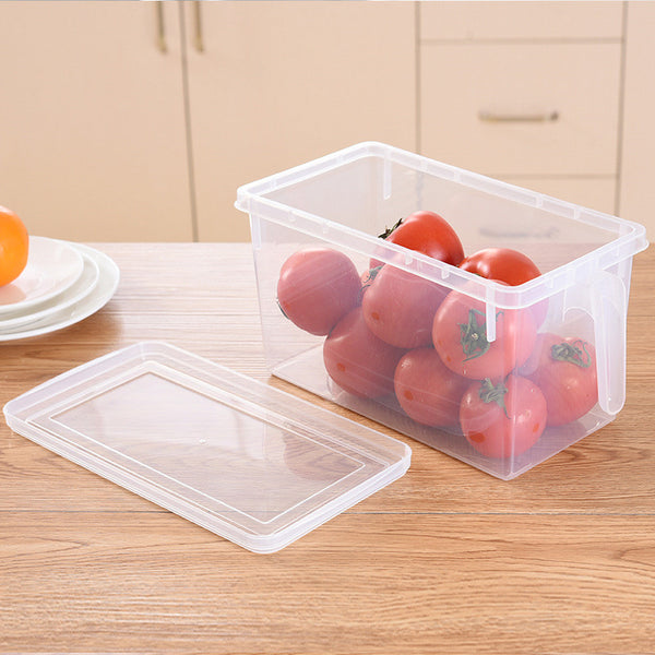 Kitchen Transparent PP Storage Box Grains Beans Storage Contain Sealed Home Organizer Food Container Refrigerator Storage Boxes - HeyHouseCart