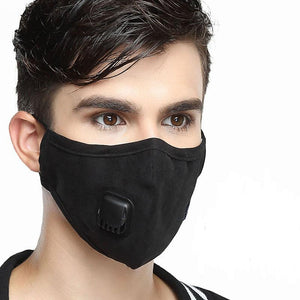 4pcs Fabric Mouth Face Mask PM2.5 Anti Haze/Anti Dust Mouth Mask Respirator Mascaras with Carbon Filter Respirator - HeyHouse