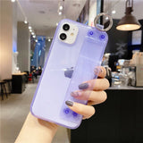 Transparent Shockproof Frame Case For iPhone 11 Pro Max XR XS Max 6 6S 7 8 Plus X Full Body Soft TPU Phone Back Cover