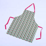 New Creative cartoon Flamingo 3D printing apron unisex Sleeveless Overclothes kitchen cooking aprons for women Custom pinafore - HeyHouse