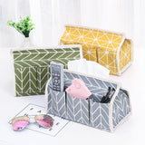 New Multi-function desktop storage box Office stationery tool and facial tissue storage organizer folding waterproof bins - HeyHouse