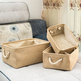 New folding Storage Baskets Portable Laundry kids toys organizer Clothes and sundries storage box Cabinet storage bag - HeyHouse