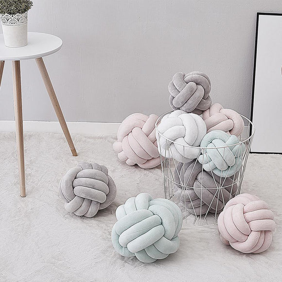 Decorative Knot Ball Pillow for Home Decoration - HeyHouse