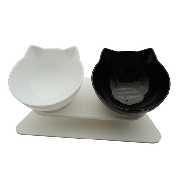 Non-slip Double Cat Bowl Dog Bowl