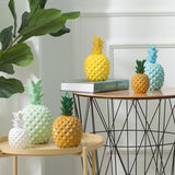 Pineapple Shaped Resin Ornament Piggy Bank Money Banks Coins Cans - HeyHouse