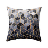 Nordic Style Geometric Cushion Cover/Throw Pillow Polyester Pillow Case/ Throw Pillow Black And White Home Decorative Pillows Cover/Throw Pillow For Sofa Car - HeyHouse