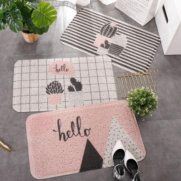 Entrance Hall Carpet PVC Door Mat - HeyHouse